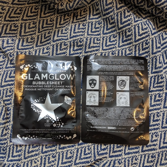 GLAMGLOW Other - GlamGlow Bubble mask